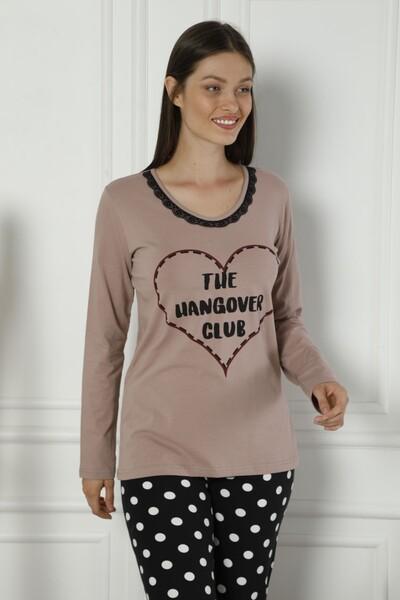 - Dantelli Pamuklu Likralı Pijama Takım
