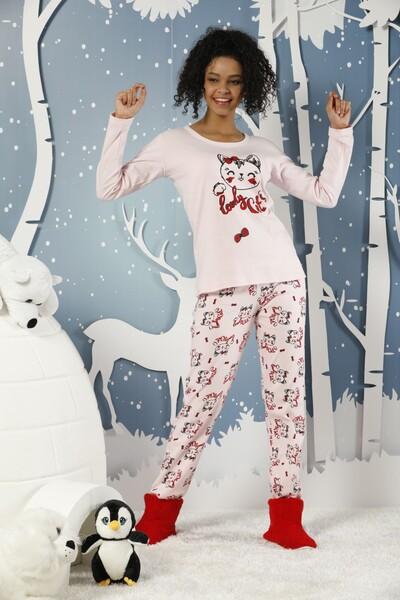 İnterlok Pijama Takımı - Thumbnail