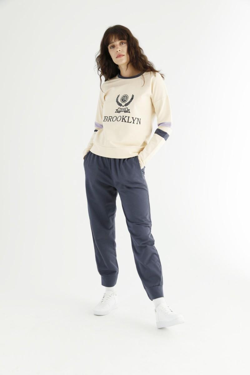SİYAH İNCİ - Cepli Eşofman-Sweatshirt Takım 21278037