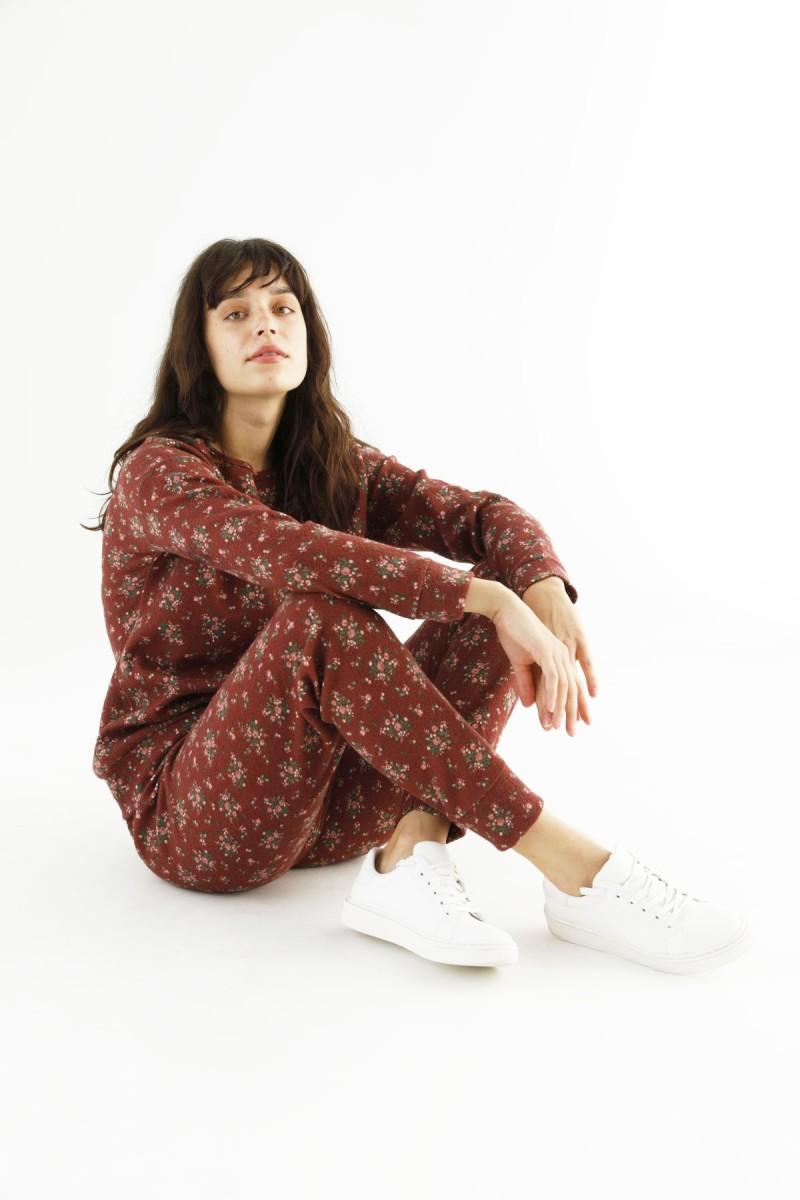 SİYAH İNCİ - Desenli Eşofman-Sweatshirt Takım 21278003