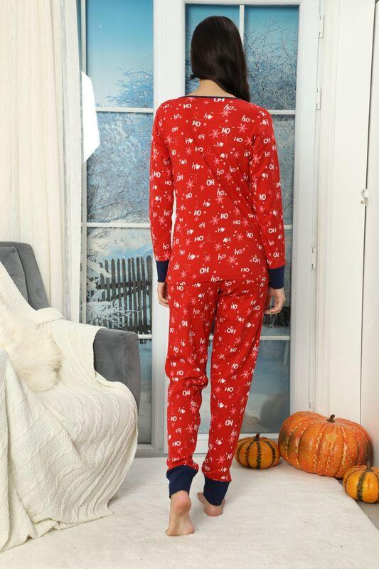 Düğmeli İnterlok Pijama Takımı