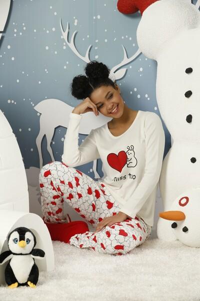 SİYAH İNCİ - İnterlok Pijama Takımı