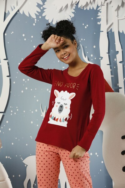 SIYAH İNCİ - İnterlok Pijama Takımı