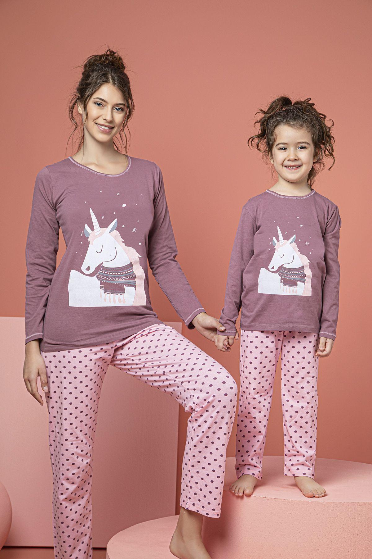SIYAH INCI - Pamuklu Likralı Pijama Takım 20263058