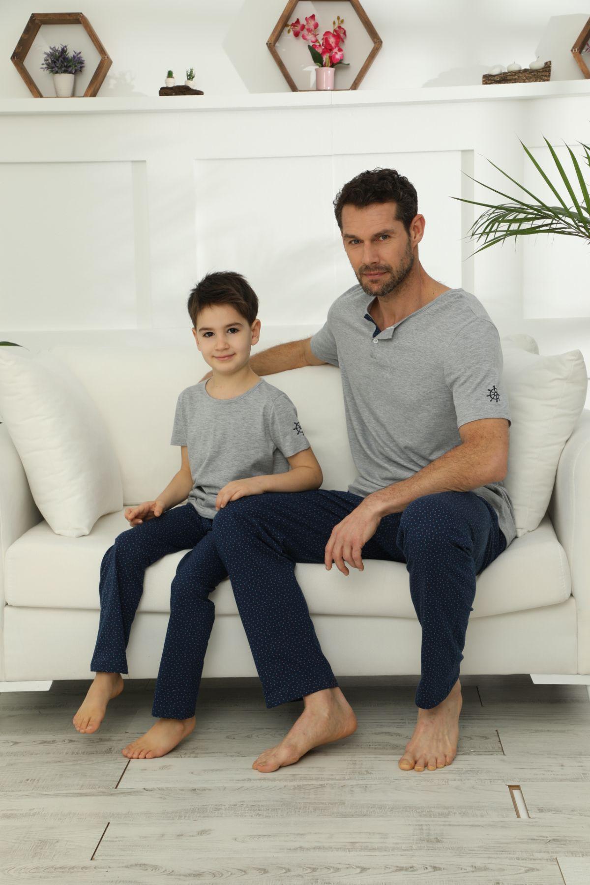 Pamuklu Likralı Pijama Takım 21148020