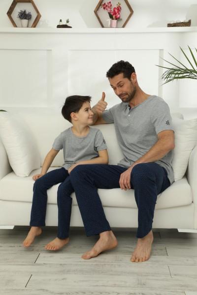 SİYAH İNCİ - Pamuklu Likralı Pijama Takım 21148020