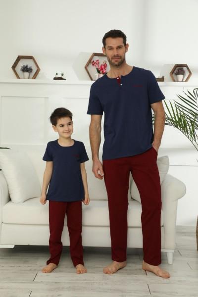 Pamuklu Likralı Pijama Takım 21148024 - Thumbnail