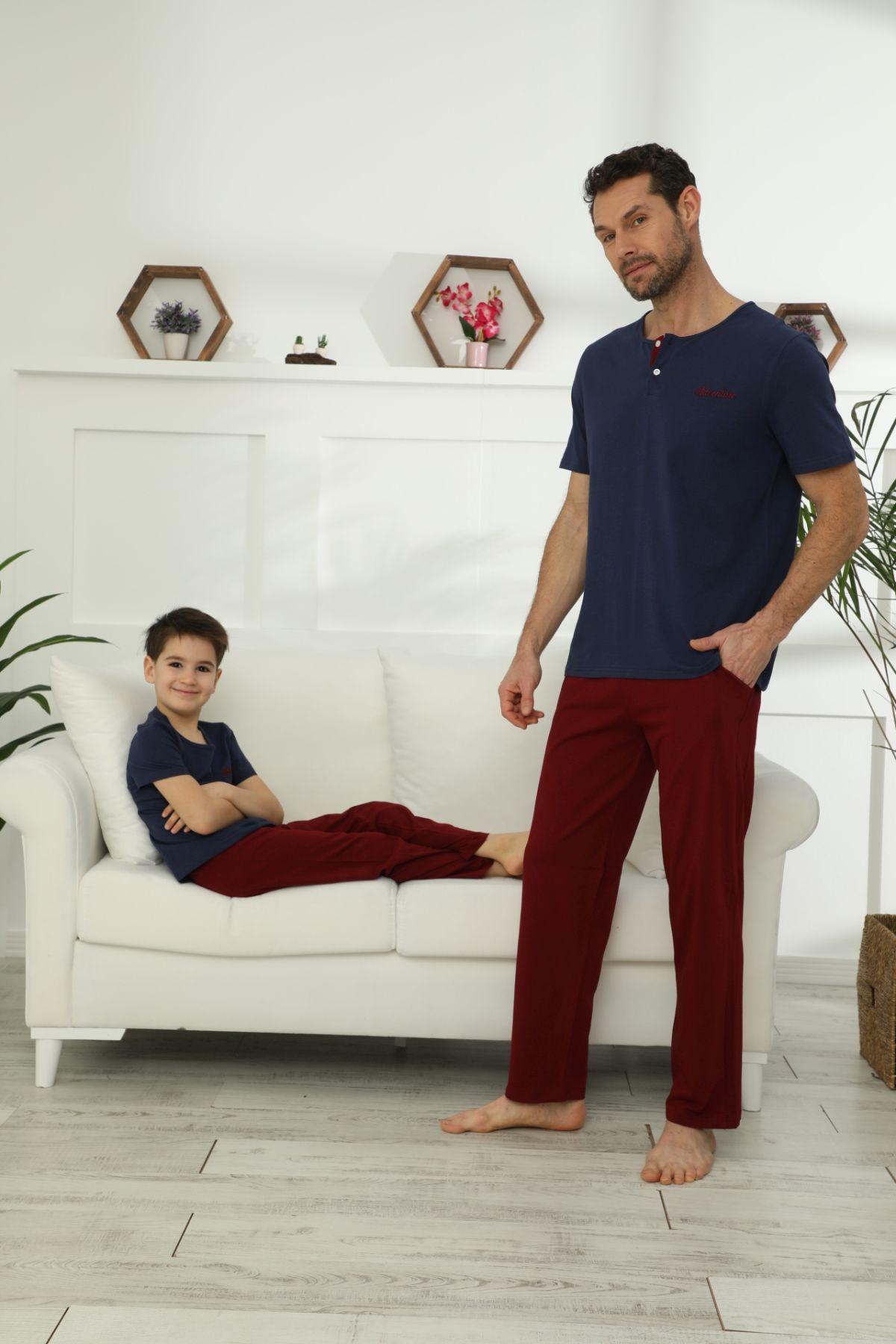 Pamuklu Likralı Pijama Takım 21148024