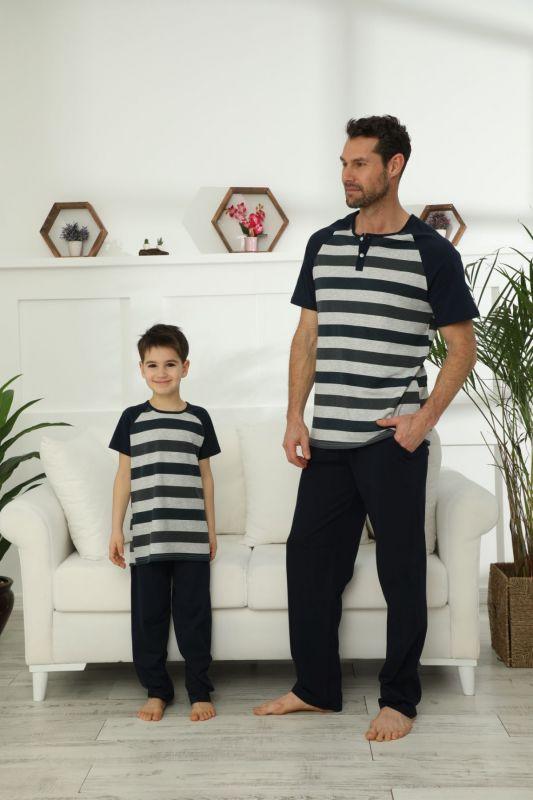 Pamuklu Likralı Pijama Takım 21148030