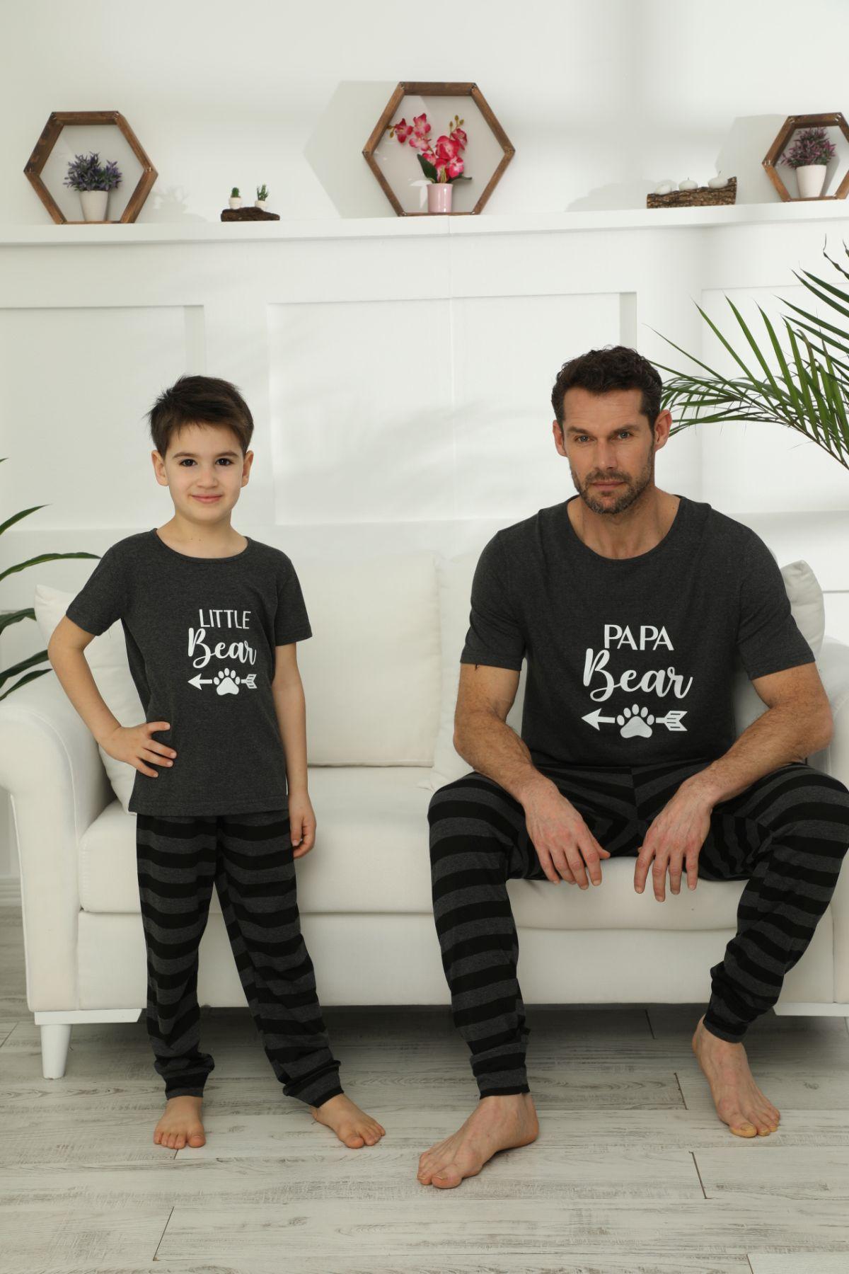 Pamuklu Likralı Pijama Takım 21148031