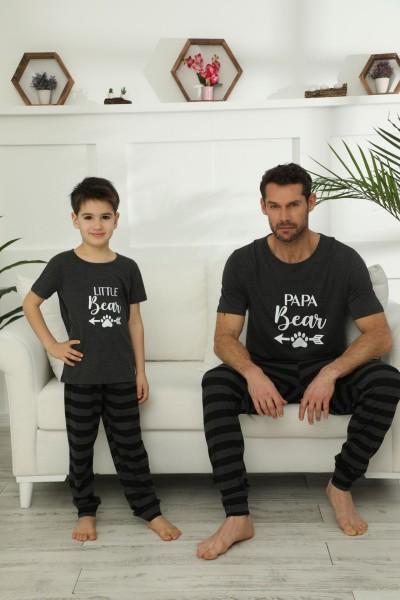 Pamuklu Likralı Pijama Takım 21148031 - Thumbnail