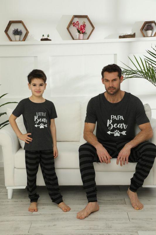 SIYAH INCI - Pamuklu Likralı Pijama Takım 21148031