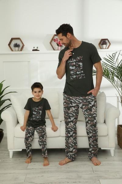 SIYAH INCI - Pamuklu Likralı Pijama Takım 21148032
