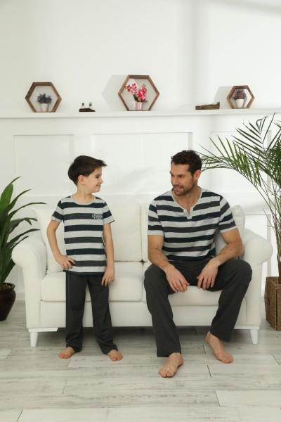 Pamuklu Likralı Pijama Takım 21148035 - Thumbnail