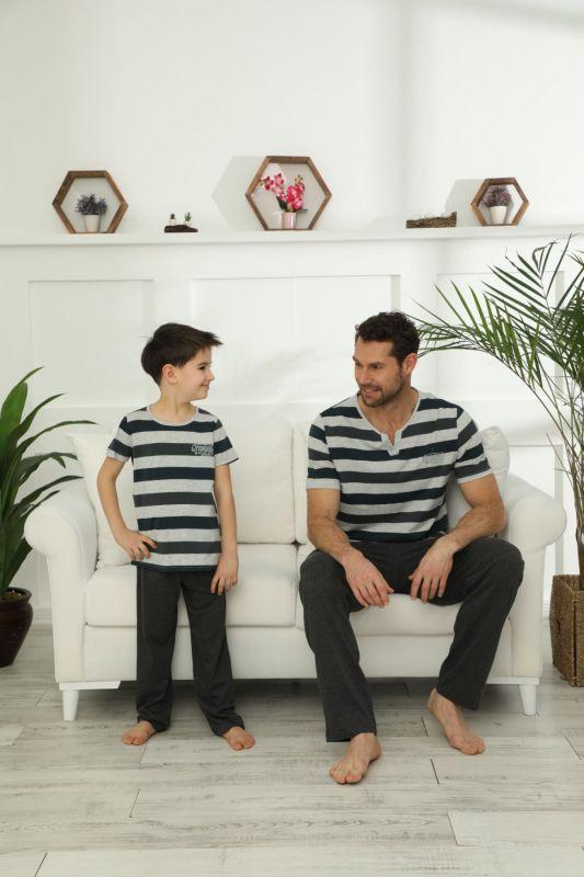 SIYAH INCI - Pamuklu Likralı Pijama Takım 21148035