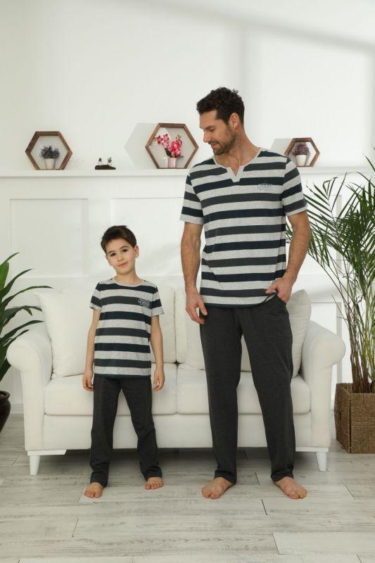 Pamuklu Likralı Pijama Takım 21148035