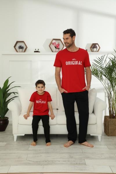 SİYAH İNCİ - Pamuklu Likralı Pijama Takım 21148037
