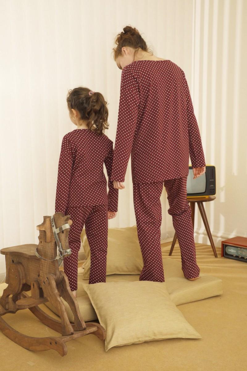 SİYAH İNCİ - Pamuklu Likralı Pijama Takım 21263134