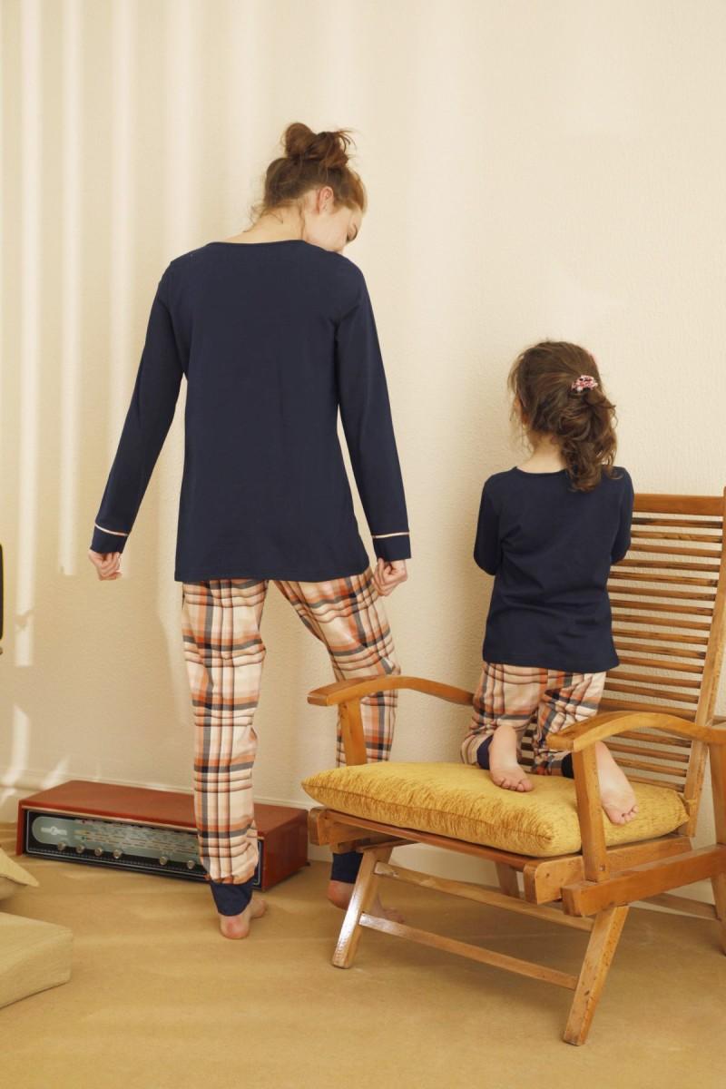 SİYAH İNCİ - Pamuklu Likralı Pijama Takım 21263147