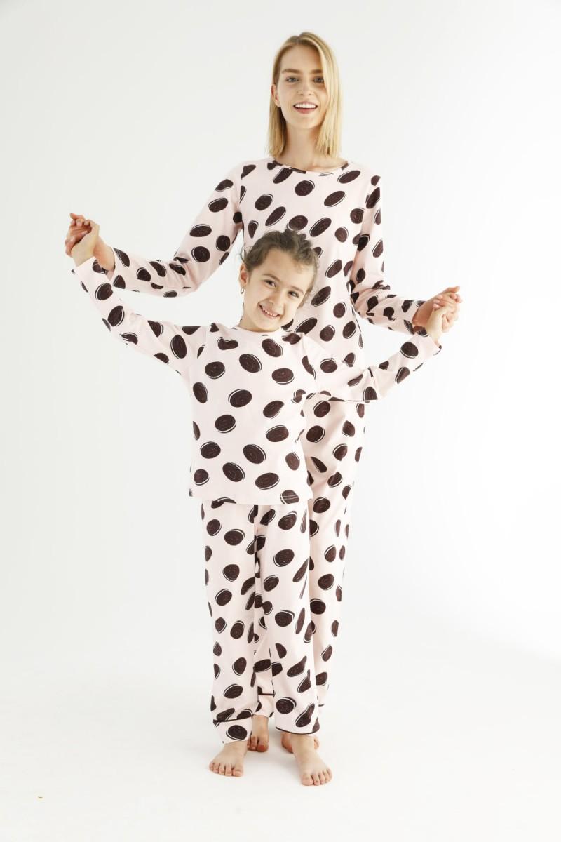 SİYAH İNCİ - Pamuklu Likralı Pijama Takım 21263218 (1)