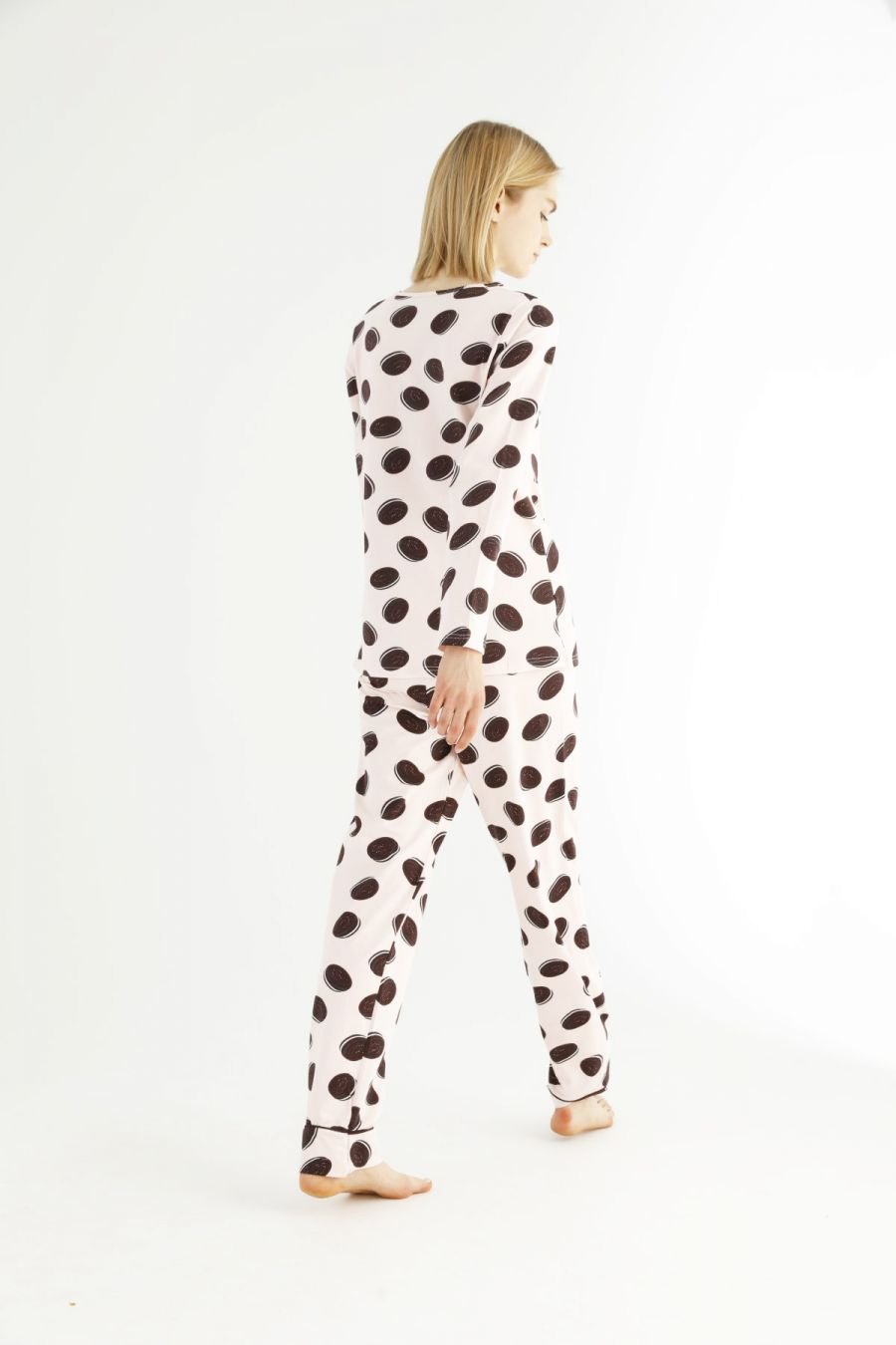 Pamuklu Likralı Pijama Takım 21263218