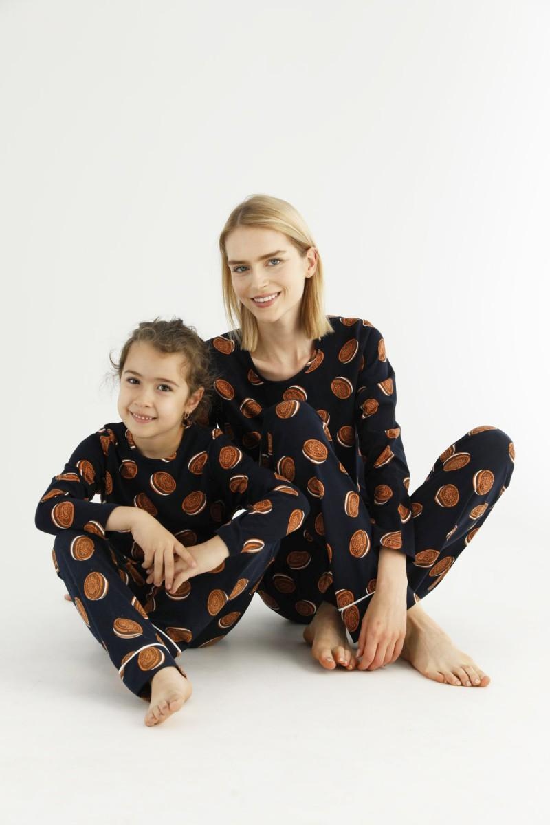 SİYAH İNCİ - Pamuklu Likralı Pijama Takım 21263220