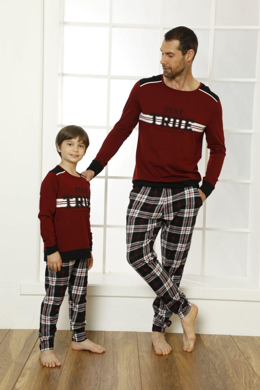 Pamuklu Likralı Pijama Takım 21269501