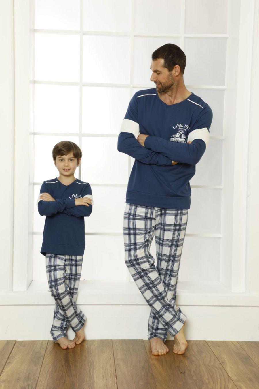 Pamuklu Likralı Pijama Takım 21269506