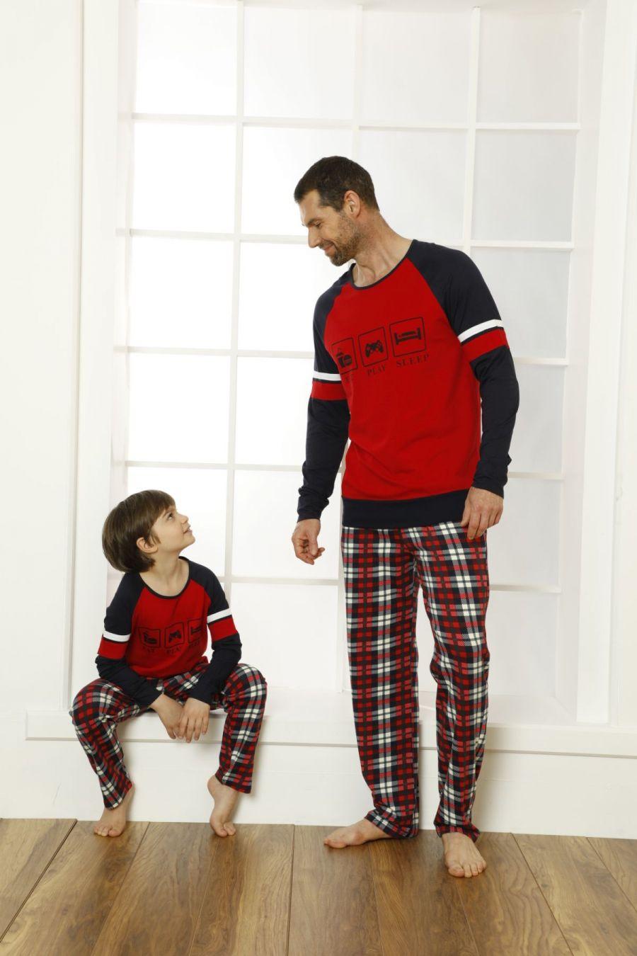 Pamuklu Likralı Pijama Takım 21269507