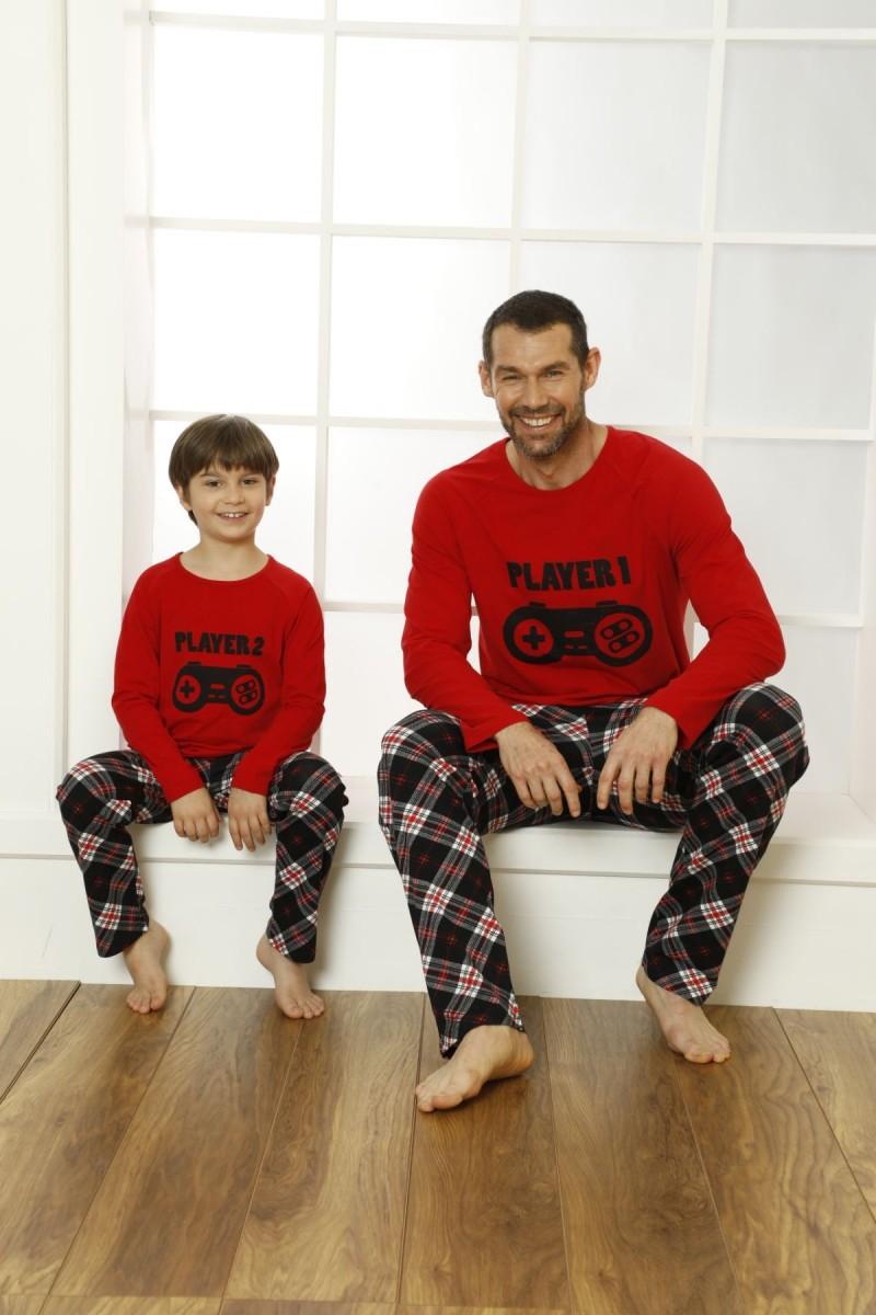 SİYAH İNCİ - Pamuklu Likralı Pijama Takım 21269509