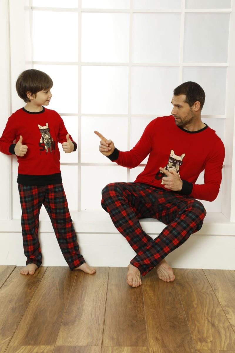 SİYAH İNCİ - Pamuklu Likralı Pijama Takım 21269518