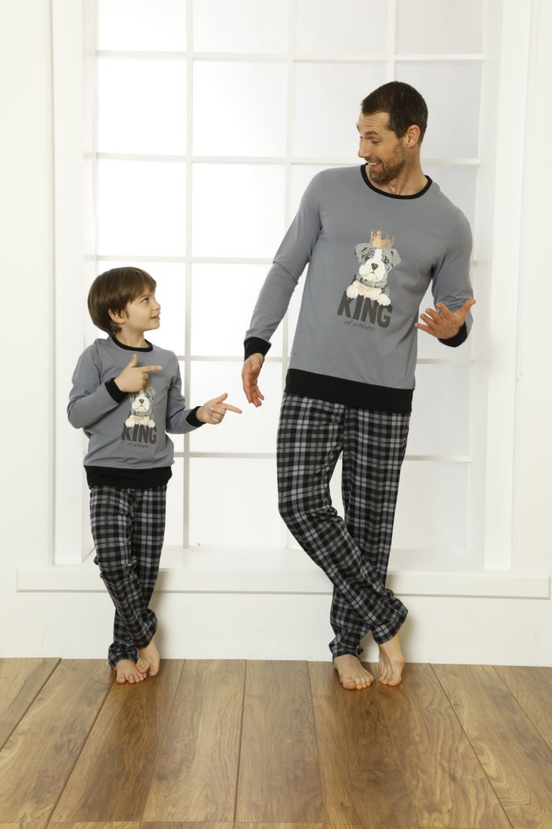 SİYAH İNCİ - Pamuklu Likralı Pijama Takım 21269519