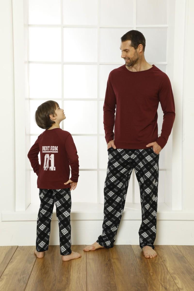SİYAH İNCİ - Pamuklu Likralı Pijama Takım 21269522