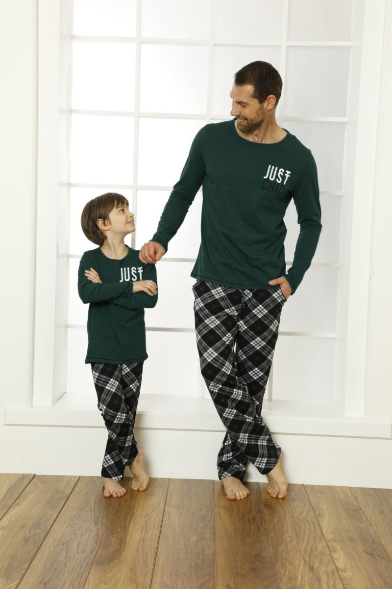 SİYAH İNCİ - Pamuklu Likralı Pijama Takım 21269529