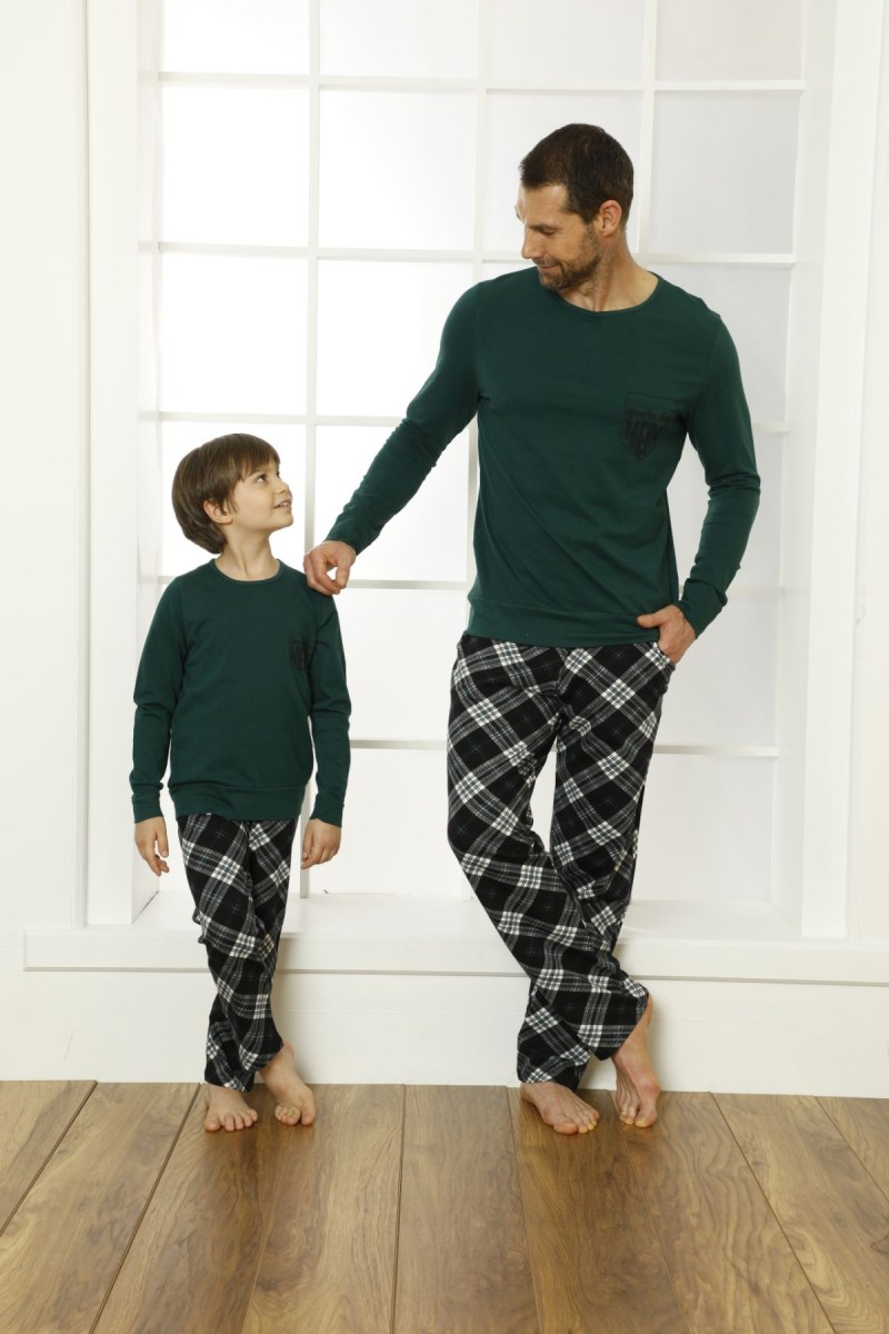 SİYAH İNCİ - Pamuklu Likralı Pijama Takım 21269532