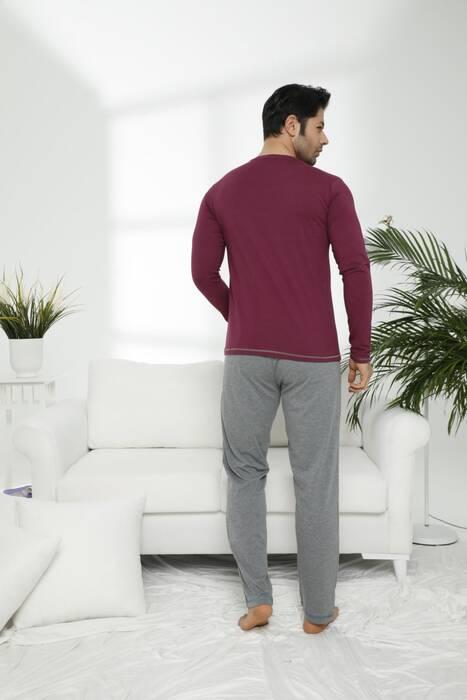Pamuklu Likralı Pijama Takım 7465