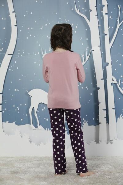 Pamuklu Likralı Pijama Takım - Thumbnail